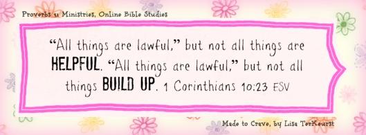 1 Corinthians 10v23