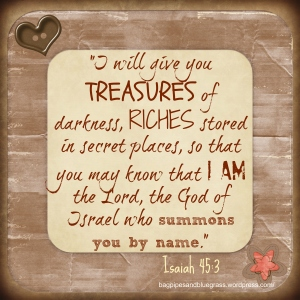 Wk 3 Isaiah 45v3