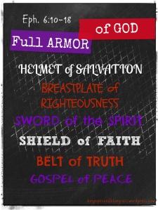Eph. 6v10-18