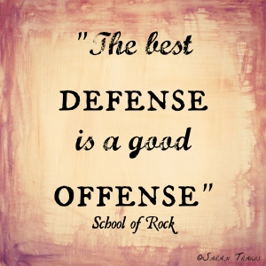 Defense:Offense